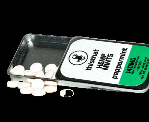 thisthat CBD breath mints