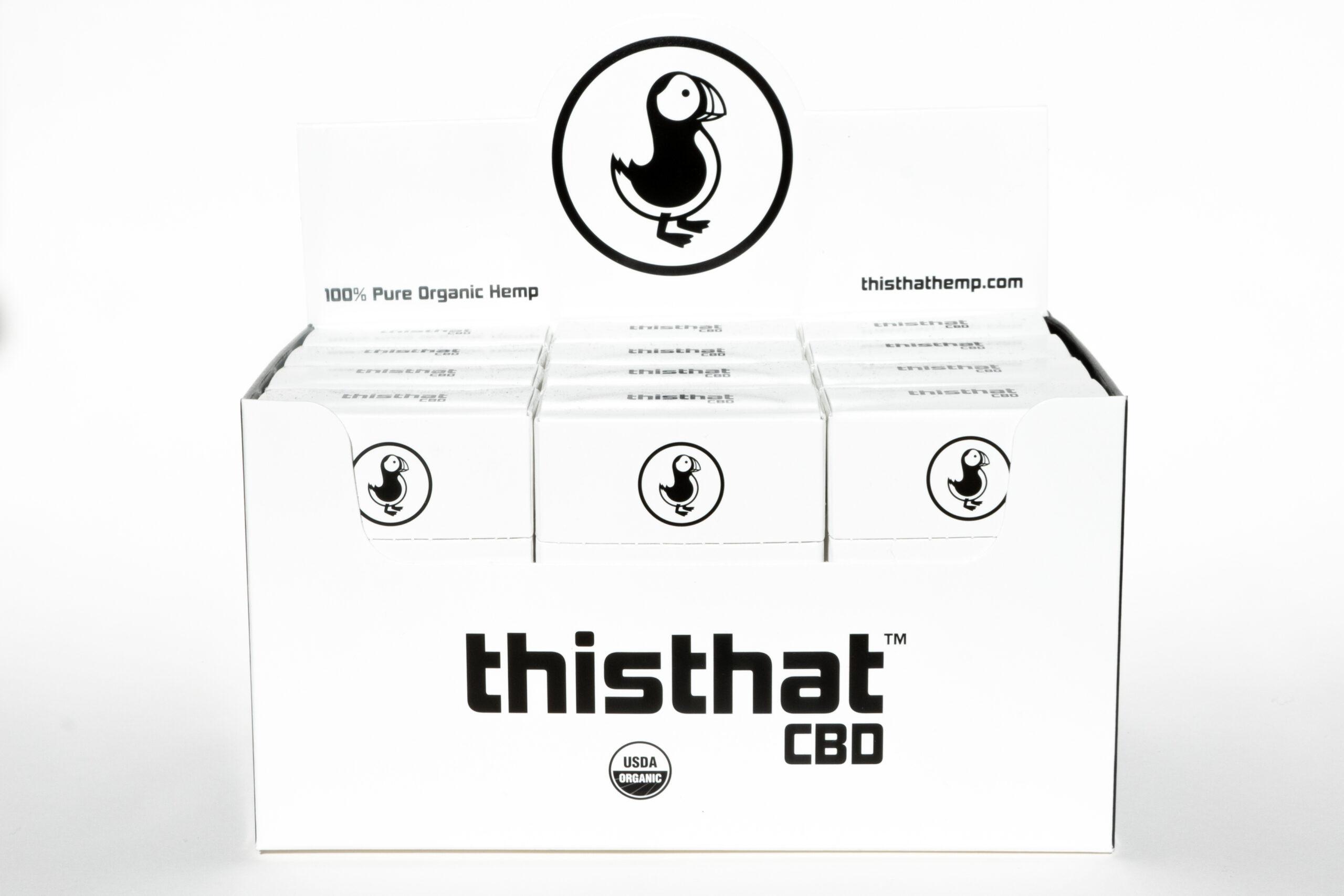 thisthatCBD Master 12 Pack hemp CBD cigarettes